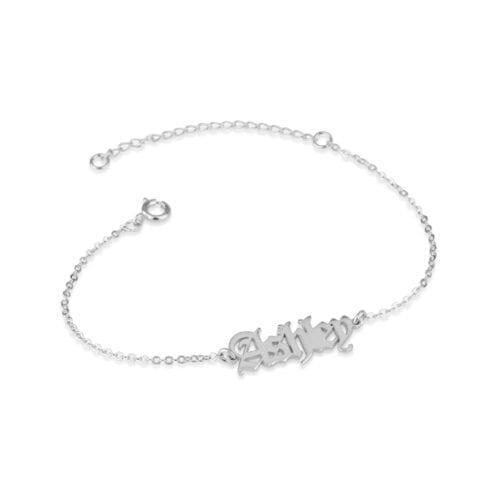 Gothic Name Bracelet - Beleco Jewelry