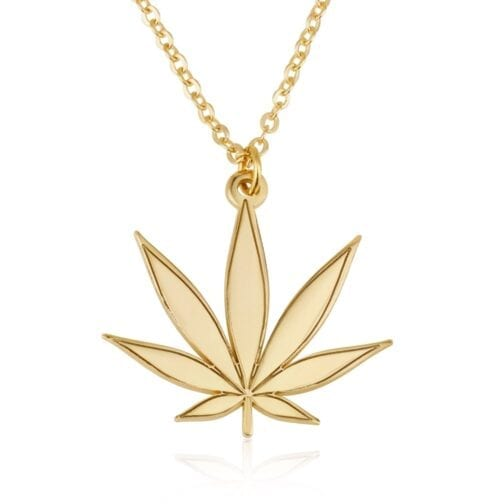 Marijuana Necklace - Beleco Jewelry