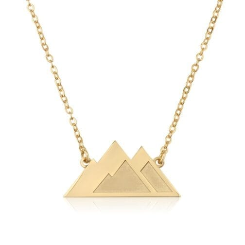 Mountains Necklace - Beleco Jewelry